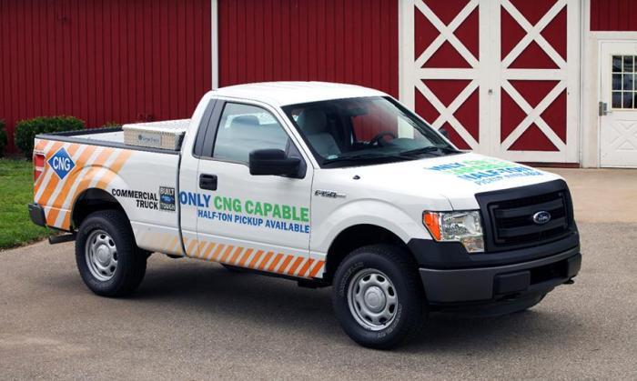 2014 Ford F-150 CNG/LPG