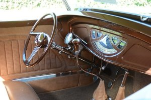 1933 ford roadster interior