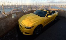 2015 Mustang at the Empire State Building